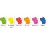 Kit Tinta Acrílica Neon Nature Colors Acrilex 10ml Com 6 Unidades