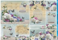 Papel Decoupage - PD-926