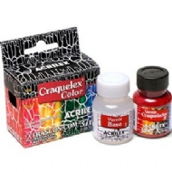 kit Craquelex Color Acrilex 37 ml - PRETO