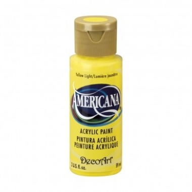 TINTA DECOART AMERICANA YELLOW LIGHT - DA144