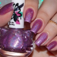 CAT HOLO PURPLE