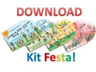 Download - Kit 4 CDs - Festa! - Personalizados