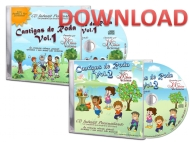 DOWNLOAD - Kit 2 CDs Roda 1 e 2 - Personalizados