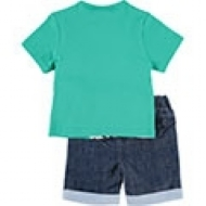 Conjunto Shorts e Camiseta Monstrinhos