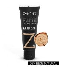 Base Líquida Matte HD Natural Zanphy - 30ml