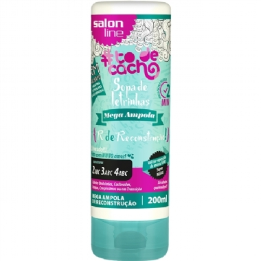 Salon Line Kit Ampola Sopa de Letrinhas R + Gel Líquido Day After
