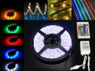 Fita led 5050 Rgb 6000k colorida IP65 14.4w metros 12v com silicone