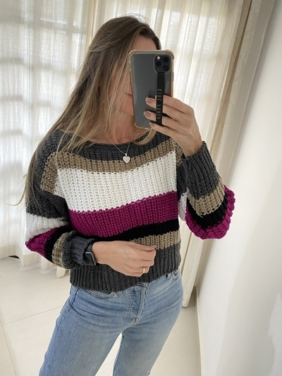 Tricot Cropped Mousse