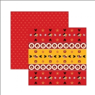Papel Scrapbook Dupla Face Toke e Crie - Disney Mickey Mouse - SDFD014