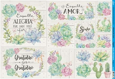 Papel Decoupage - PD-920