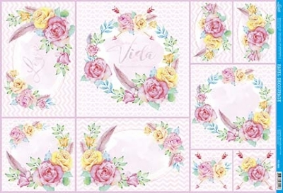 Papel Decoupage - PD-966
