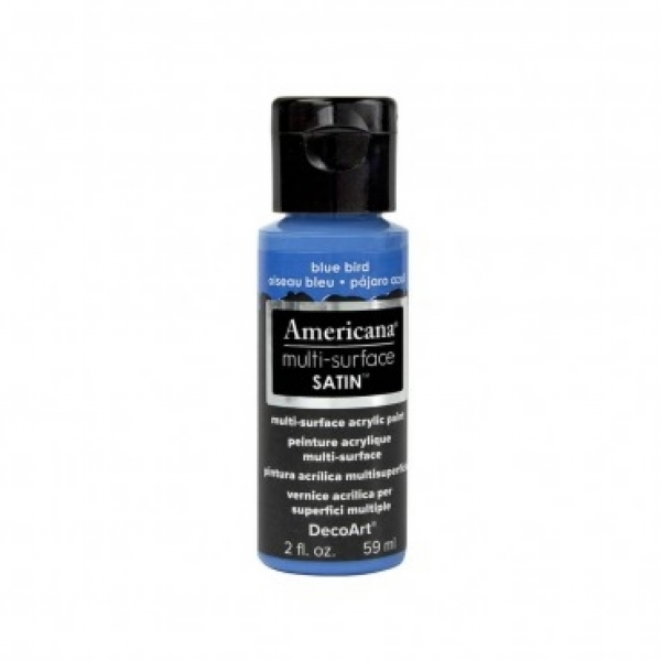TINTA DECOART AMERICANA MULTI SURFACE BLUE BIRD - DA527