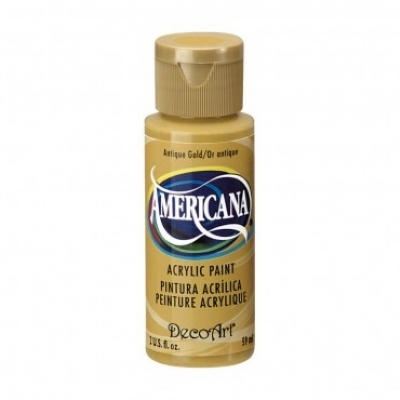 TINTA DECOART AMERICANA ANTIQUE GOLD - DA09