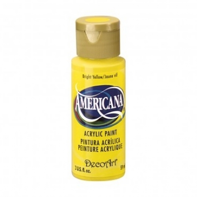 TINTA DECOART AMERICANA BRIGHT YELLOW - DA227