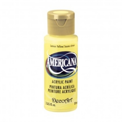 TINTA DECOART AMERICANA LEMON YELLOW - DA011