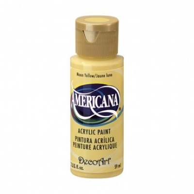 TINTA DECOART AMERICANA MOON YELLOW - DA07