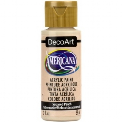 TINTA DECOART AMERICANA SUGARED PEACH - DA354
