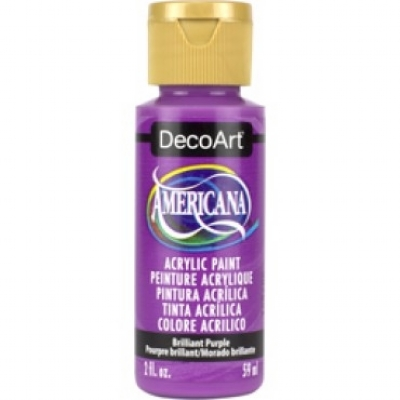 TINTA DECOART AMERICANA BRILLIANT PURPLE - DA353