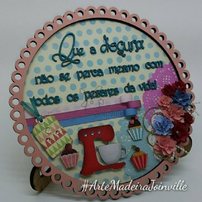 Kit Quadro Scrapdecor - Cook 03