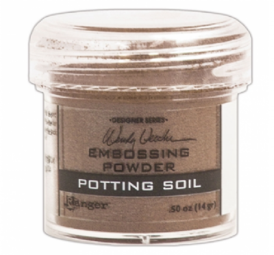 Pó Para Embossing - Potting Soil