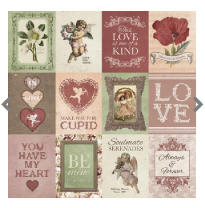 Papel para Scrapbook - Tags 21063