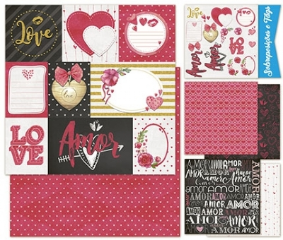 Kit Scrap Decor Valentines Day - KSD-007