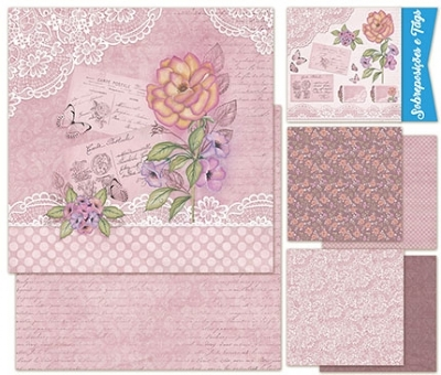 Kit Scrap Decor Romantic Roses - KSD1-001