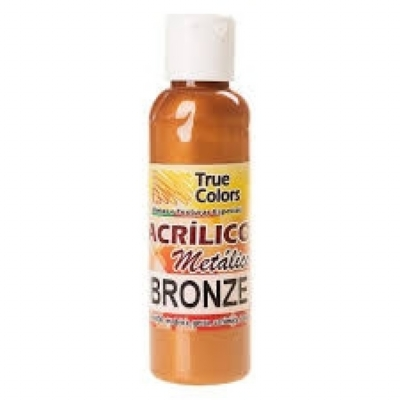 ACRÍLICO METÁLICO BRONZE 60ML - True Colors