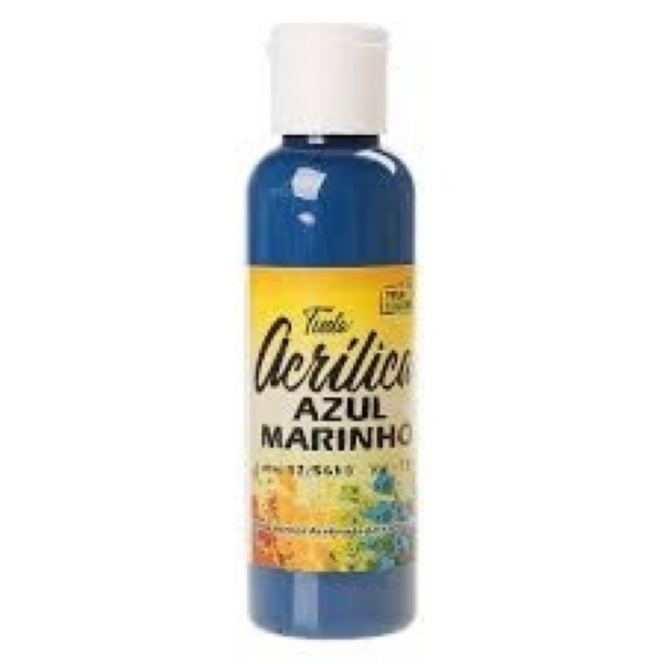 TINTA ACRILICA AZUL MARINHO 60 ML - True Colors