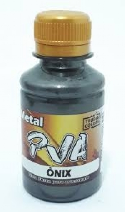 TINTA METAL PVA ÔNIX 100 ML - True Colors
