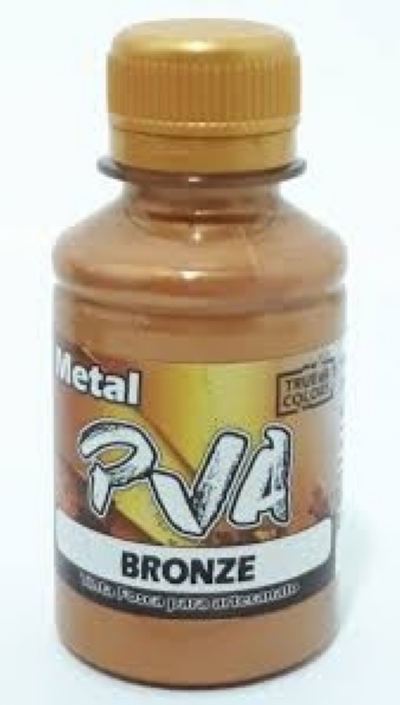 TINTA METAL PVA BRONZE 100 ML - True Colors
