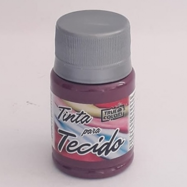 TINTA TECIDO CARMIM REAL 37 ML - True Colors