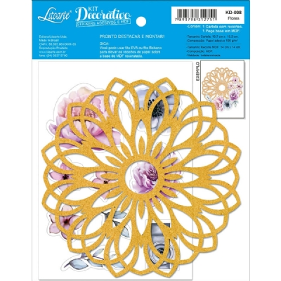 KD-008 - KIT DECORATIVO - FLORES
