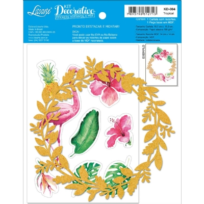 KD-004 - KIT DECORATIVO - TROPICAL