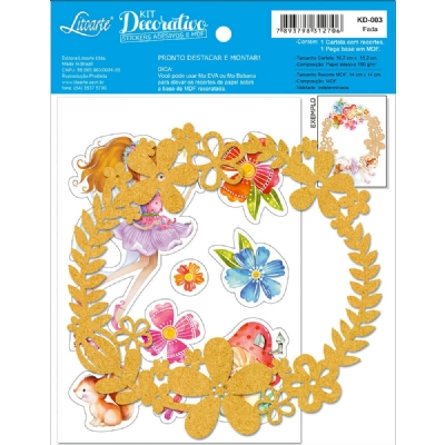 KD-003 - KIT DECORATIVO - FADA