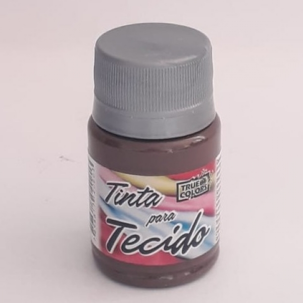 TINTA TECIDO CAFÉ 37 ML - True Colors