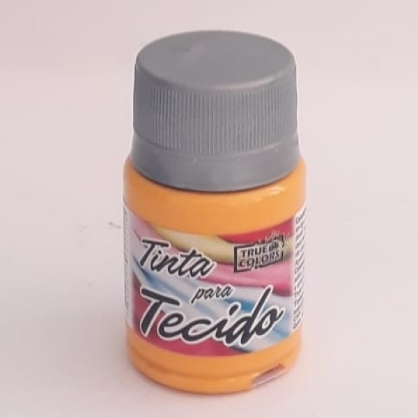 TINTA TECIDO MOSTARDA 37 ML - True Colors