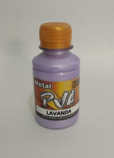 TINTA METAL PVA LAVANDA 100 ML - True Colors