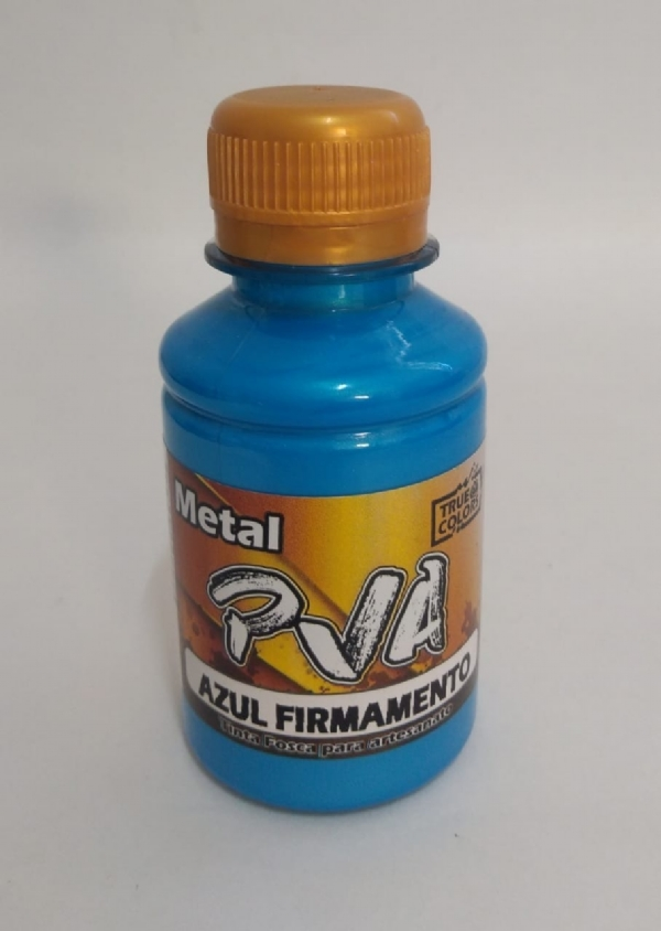 TINTA METAL PVA AZUL FIRMAMENTO 100 ML - True Colors