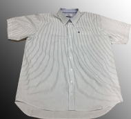Camisa MC Listrada Plus Size