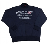 Blusao Moletom Plus Size America Air Force