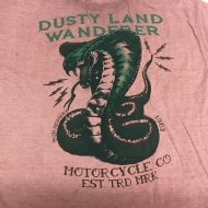 Camiseta Estampa nas Costas Dusty Land